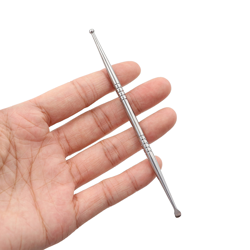 Image 5 - Acupuncture Point Probe Stainless Steel Auricular Point Pen Beauty Ear Reflex Zone Massage Needle Detection Health Care 11/13cm-in Ear Care from Beauty & Health