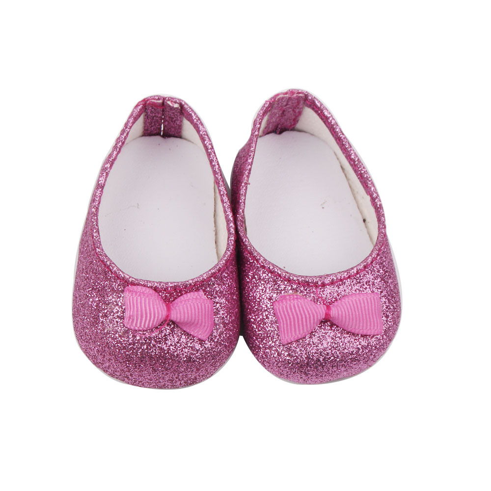 Multi Colors American Girl Doll Accessories of Shining Princess Doll Shoes for 18 Americ ...