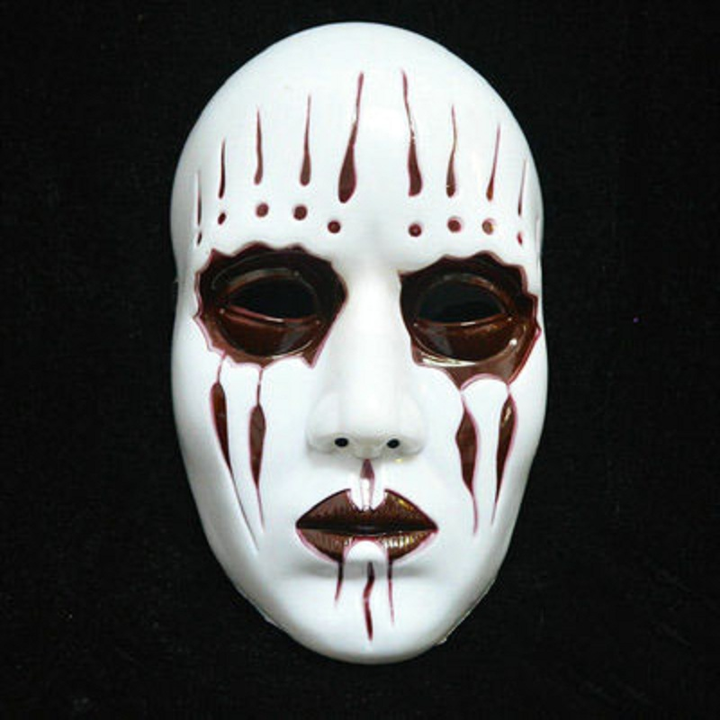 cheap new slipknot joey masks cosplay scary white slipknot mask adult fancy costume party masquerade halloween - Halloween Costumes Prices