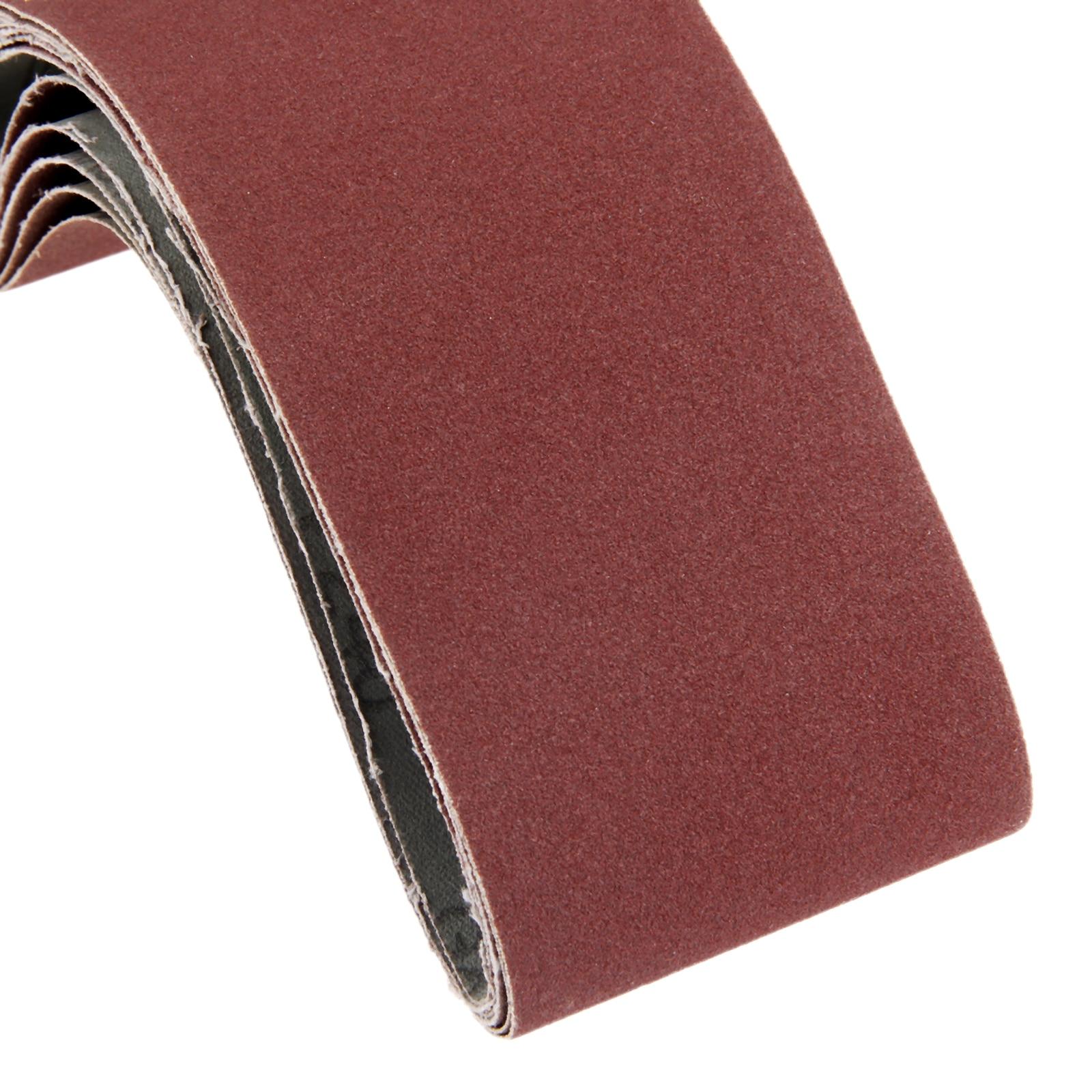 textile Bandes abrasives Powertool 5 pi/èces travail du bois polissage du m/étal Outil abrasif pour mat/ériaux de construction