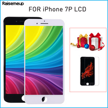 цены Display For iPhone 7 plus 7p LCD 3D Touch Screen Digitizer Assembly with high quality Replacement parts free shipping and gifts