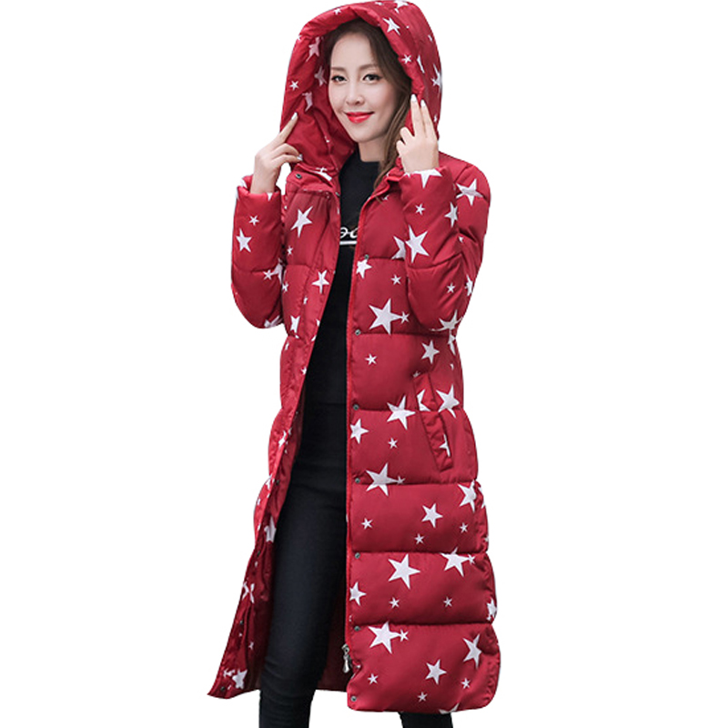 2017 high quality women winter long coat hooded thicken warm slim jacket female plus size 3XL ladies parka overcoat chaqueta europe new 2015 winter warm long duck down jacket coat women high quality hooded thicken plus size windproof parka ae714