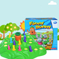 Funny Bunny Puzzle Board Game, Environmental Plastic Game For Family/Friends,Send Children As Gift With Free Shipping
