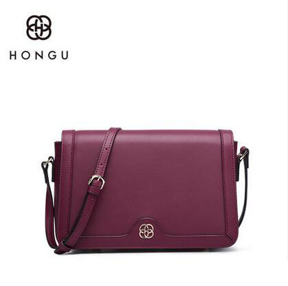 HONGU New Leather Messenger Fashion Handbags Bag Diagonal Shoulder Bag Simple Small Party Bag % jialante 2017 new lizard leather bag is made of simple small shell bag customized for 15 days