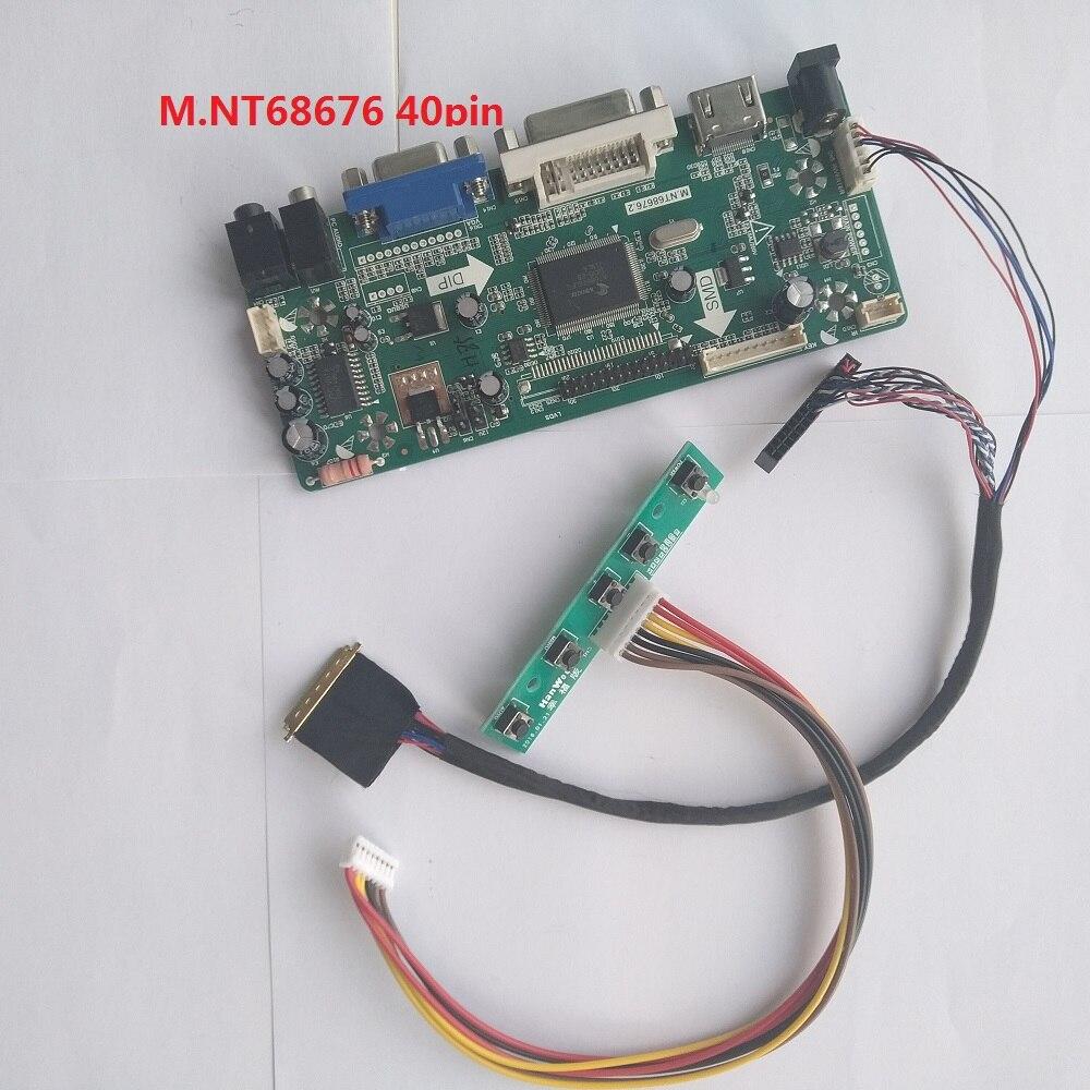 "Kit For LP173WD1-TLG1 M.NT68676 Controller board 1600X900 17.3"" 40pin LVDS VGA Screen HDMI DVI Panel monitor LED LCD"