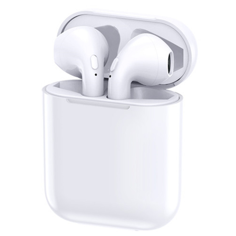 New Super Mini in ear wireless headphones bluetooth earphone holder case not Air Pods with microphone For Andorid iPhone