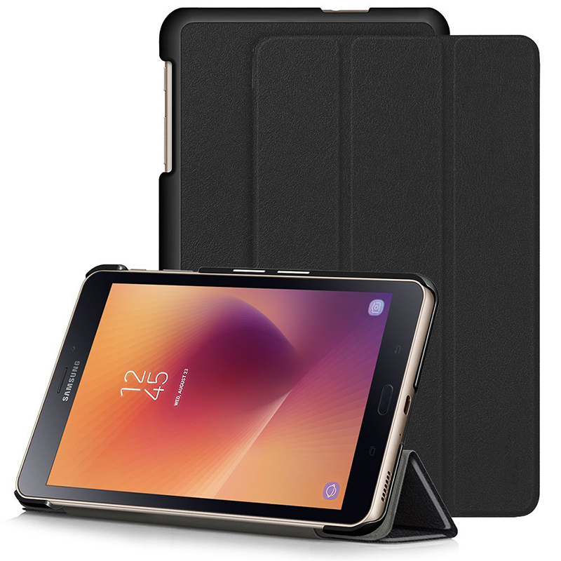 Ultra Slim 3-Fold Folio Stand Leather Magnet Smart Funda Cover Case For Samsung Galaxy Tab A 8.0 2017 T380 T385 SM-T380 SM-T385