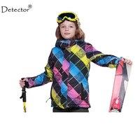 Detector de Crianças Conjunto de Roupas de Inverno Jaqueta de Esqui de Neve Size128-176 Jacket-20-30 GRAU Meninos Jaqueta De Esqui