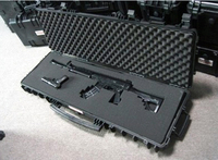long Tool case gun case large toolbox Impact resistant sealed waterproof case equipment 88 sniper rifle case with pre cut foam