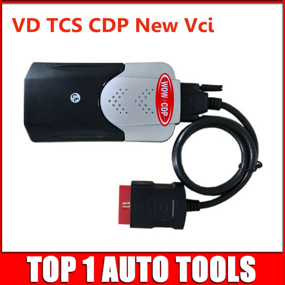 Image 2 - (10pcs/lot) 2015.R3 Keygen VD TCS CDP Bluetooth Diagnostic Scanner Tool OBD2 CARs/TURCKs Tcs cdp Free Activate DHL Freeshipping-in Mechanical Testers from Automobiles & Motorcycles on