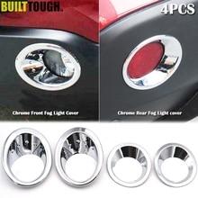 Для Nissan Qashqai/Dualis J10 2007 2008 2009 хромированный передний задний противотуманный светильник, накладка на бампер, накладка на лампу, декоративная рамка, акцент