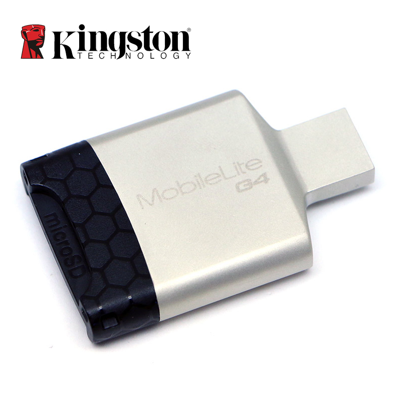 kingston usb 3 0 micro sd card reader multi function metal. Black Bedroom Furniture Sets. Home Design Ideas