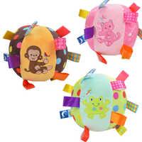 Bébé de bande dessinée en peluche Balle jouets coloré softy Hochet Mobile anneau cloche Jouet brinquedos juguetes para bebes jouet WJ531