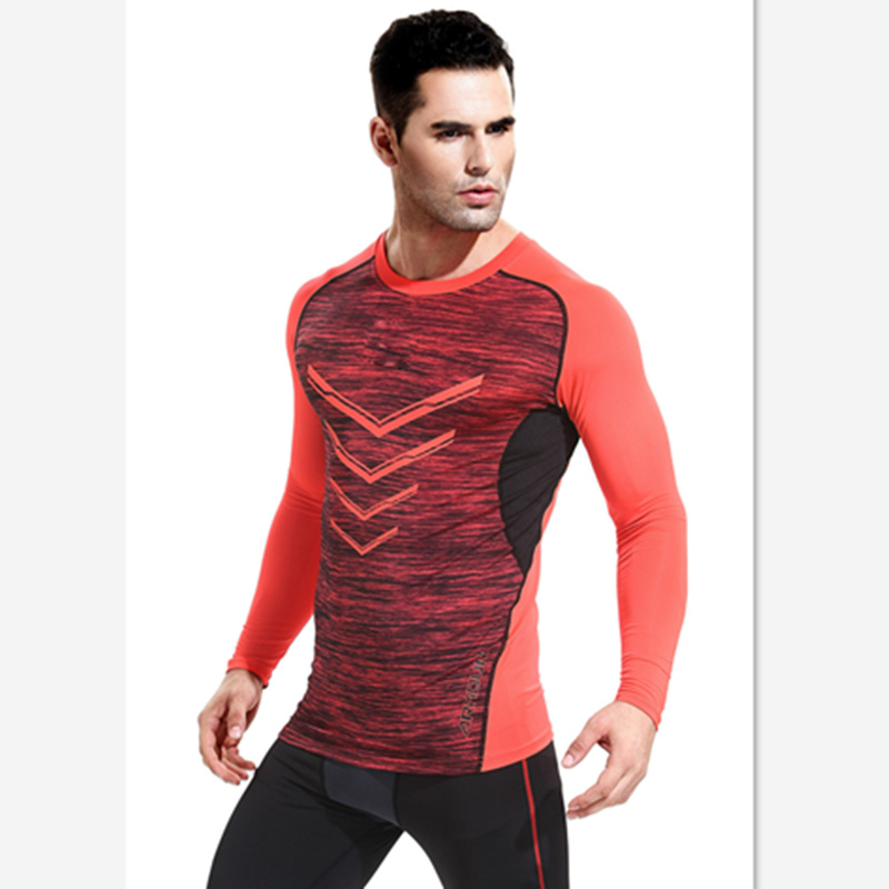 2016 autumn speed dry tight fitting casual men 39 s t shirt for How to not sweat through dress shirts