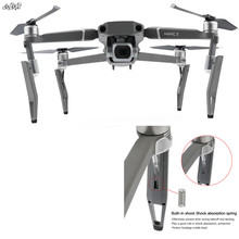 Rehaussez la jambe damortisseur de cardan de train datterrissage pour les accessoires de drone de dji mavic 2 zoom pro