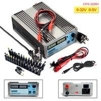 CPS 3205II DC 전원 공급 조절 디지털 미니 실험실 전원 공급 32 볼트 5A 0.01 볼트 0.001A 전압 레귤레이터 dc 전원 공급