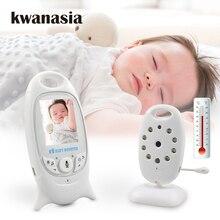Monitor de bebê vb601, babá eletrônica com vídeo e áudio de 2.0 polegadas, câmera portátil para bebê, babá