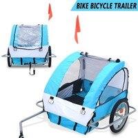 2 колеса дизайн ПЭТ велосипед велосипедный прицеп большая собака бегун коляска собака кошка велосипедная переноска с подвеской ПЭТ Коляска