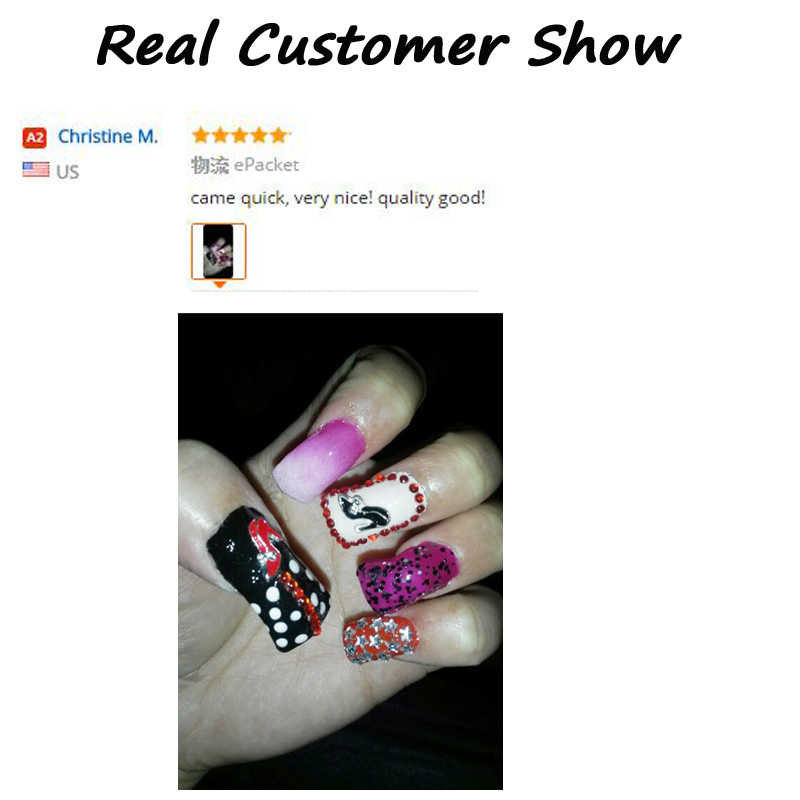 New Red Black Shoes Design Rhinestone Alloy Nail Art Decorations