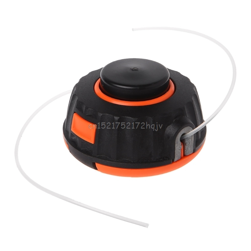 Universal Garden Trimmer Head Line Pump 2 Lines Strimmer Brush Cutter Lawn Mower D22 Dropship