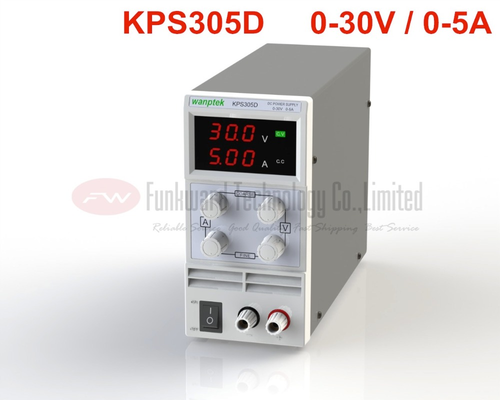 KPS305D Adjustable Mini Switch DC Power Supply Output 0 30V 0 5A AC110 220V
