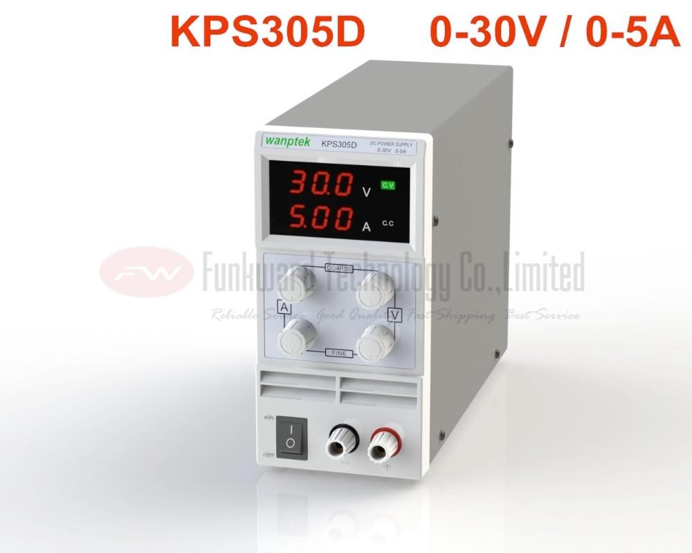 KPS305D Adjustable Mini Switch DC Power Supply Output 0 30V 0 5A AC110 220V