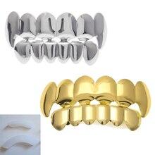 Custom Fit Реального Зубы Вампира Сверху Снизу Рот Крышки Гвардии Protector Подарок Партии