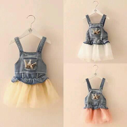 Весна лето дети дети вкладыш принцесса девочки ну вечеринку кружево платья деним младенцы дети жилет девочка mini платье 80 - 120