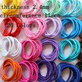 Free Shipping!100pcs/lot!New Kids Elastic Hair bands Headwear for Girls Hair Rope Headbands Accessories 20 Colors