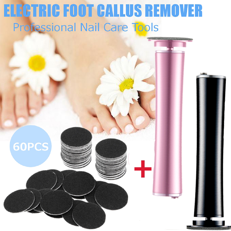Upgrade Electric Callus Remover Electronic Foot File Hard Dead Skin Polisher Exfoliating Grinding Feet Clean Care Smooth Tools