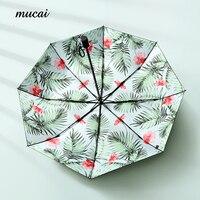 Sıcak Satış Şemsiye Yağmur Kadınlar Çiçek Güneşli Ve Yağmurlu Şemsiye Siyah Kaplama Katlanır Güneş Şemsiye Rüzgar Geçirmez Güneş Koruyucu Şemsiye