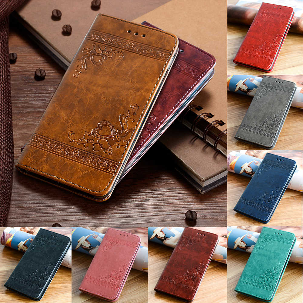 Leather Case for Huawei P30 P20 Pro P9 P10 Lite Flip Cover for Samsung Galaxy S10E S10 S6 S7 Edge S8 S9 Plus Note 8 9 Case Coque