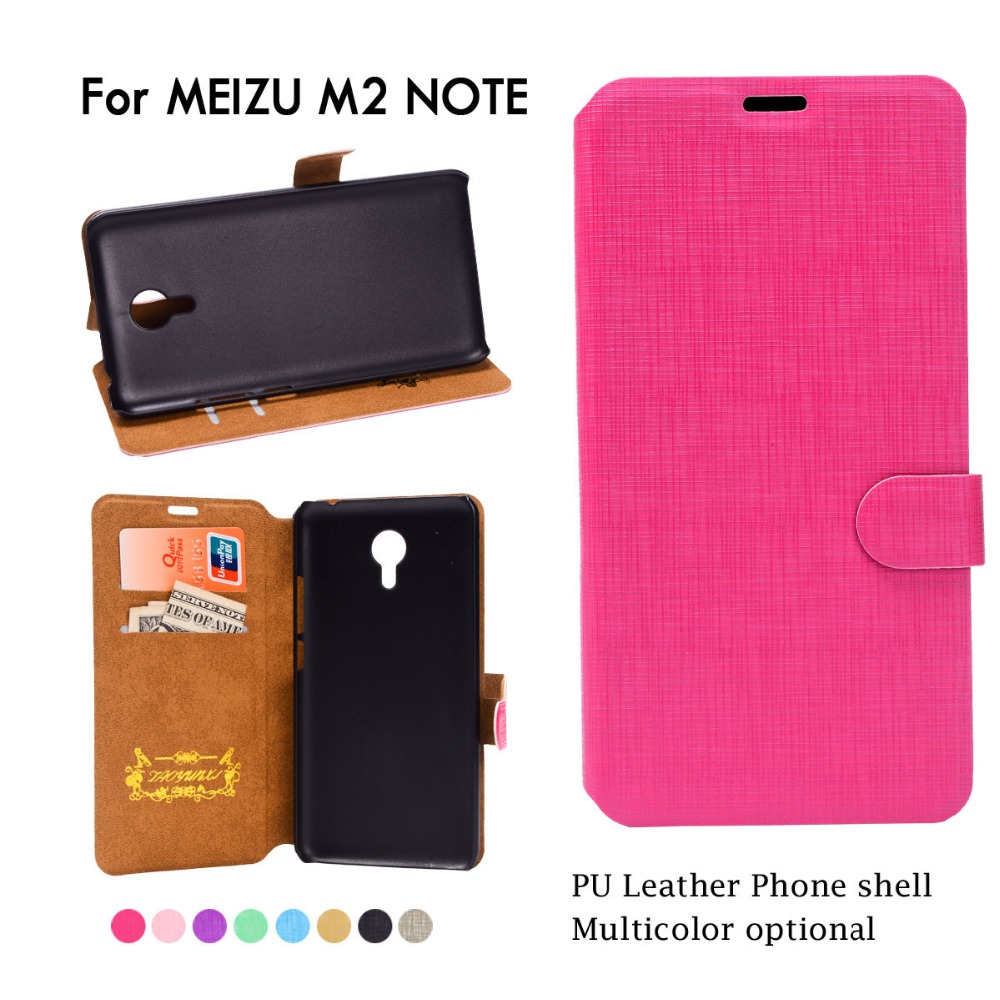 PU Leather Cover Case For Meizu mx5 Mx6 M1 M2 note Mini Wallet Flip Stand Style cell Phone Bag Cover For Meizu Meilan Case