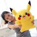 1 unid 22 cm Lindo Pikachu Juguetes de Peluche de Alta Calidad Muy Suave Muñeca de Dibujos Animados Regalo de Peluche Juguetes de peluche Para Niños s para niños