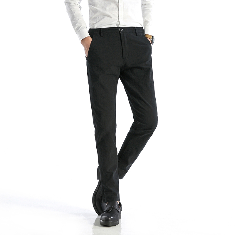 2017 New Mens British Style Gentleman Trousers Casual Students Teenagers Favourite Suit Fashion Business Formal Occasions Pants