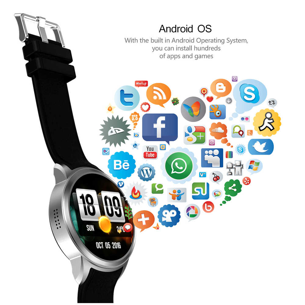 X200 Smart Android watch 1GB+16GB waterproof Sport watch Support Heart Rate Camera 3G WIFI GPS Nano SIM card smartwatch phone цена