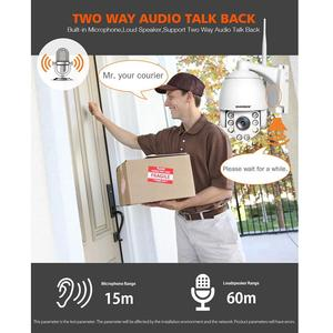 Image 2 - 5X Optische Zoom Draadloze Ptz Ip Camera Wifi 1080P 5MP Twee Weg Audio Outdoor Video Surveillance Home Security Camera p2P Camhi