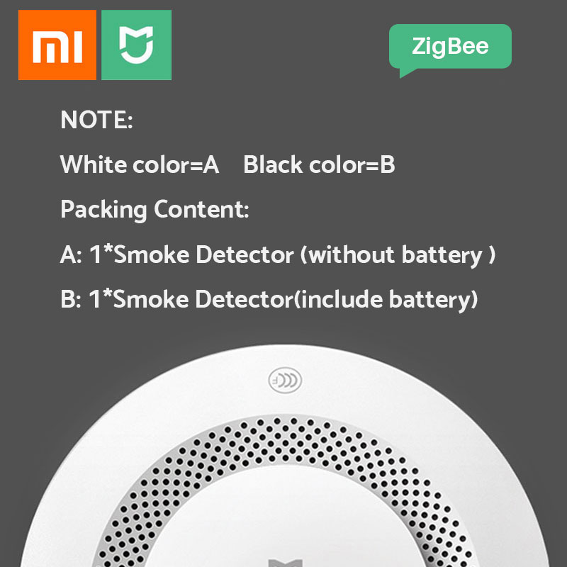 Image 5 - Xiaomi Smoke Detector Honeywell Sensor Mijia Fire Alarm Audible&Visual Alarm Work With Gateway 2 Smart Home Remote APP Control-in Smoke Detector from Security & Protection