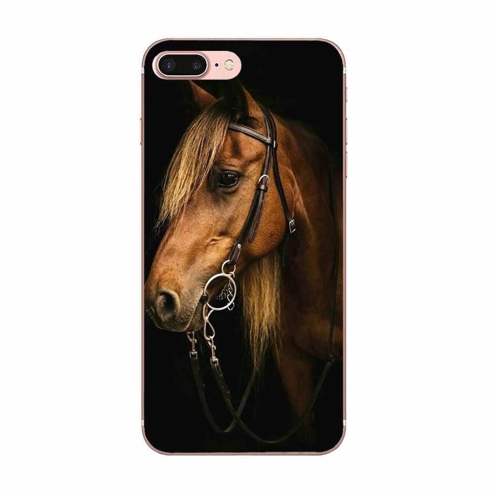 لينة TPU واقية الحيوان الحصان ل LG نيكزس 5 5X G2 G3 البسيطة الروح G4 G5 G6 K4 K7 K8 k10 2017 V10 V20 V30 ستايلس