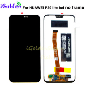 Image 3 - for Huawei P20 Lite LCD Display +Touch Screen Digitizer Assembly with frame for HUAWEI P20 Lite ANE LX1 ANE LX3 Nova 3e lcd