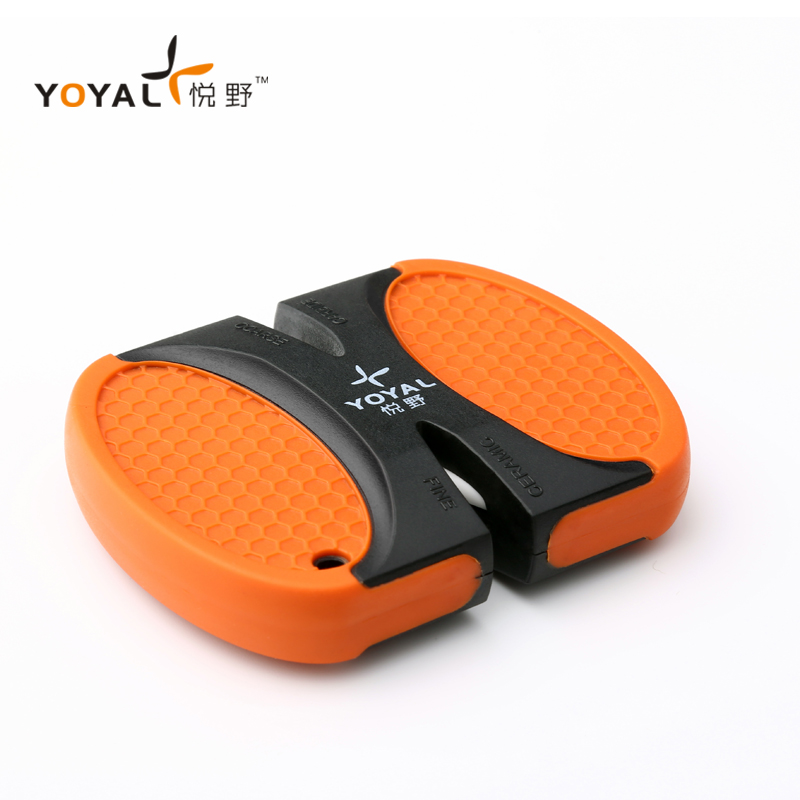 TAIDEA Outdoor pocket Knife Sharpening Tools Portable Mini Professional Ceramic Knife Sharpener afiliator cuchillos de cocina