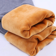 Women clothing maternity clothes winter Leggings thickened with velvet pregnant women trousers warm pants cheap 2016018 Knitted Polyester Spandex Microfiber Tights MONTH FIR Solid Natural Color