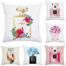 1 Pcs Home Hug Pillowcase Lipstick Perfume Bag High Heel Linen Simplicity Textile Finished Products