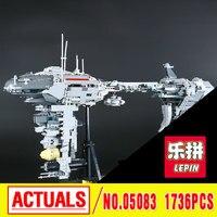 Lepin 05083 1736Pcs Star MOC Series The Nebulon B Medical Frigate Set Children Educational Building Blocks
