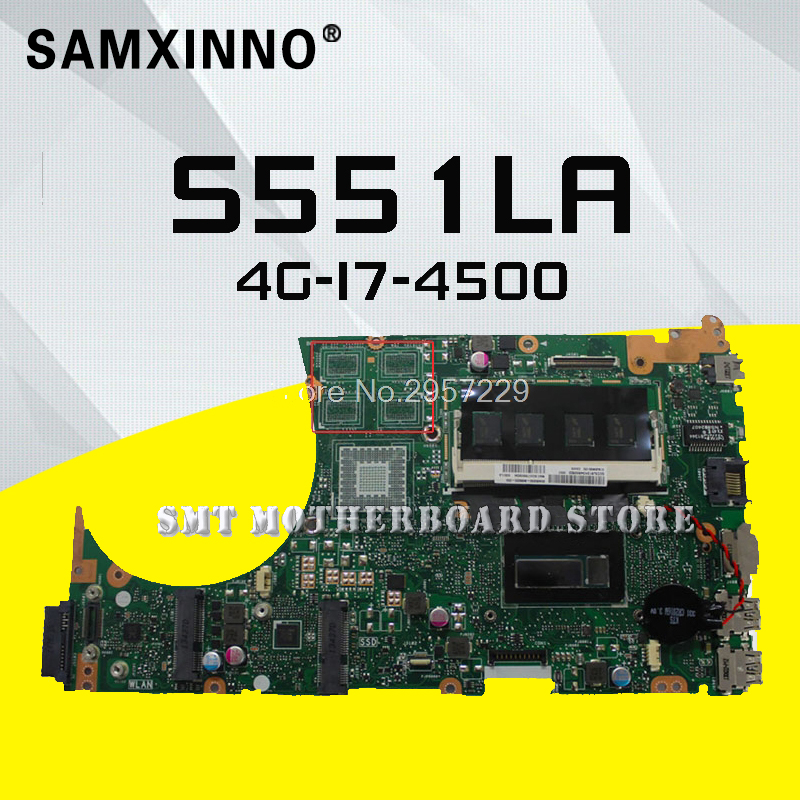 S551 ASUS Laptop for K555l/S551/S551lb Mainboard Test-Ok Rev:2.0-I7-4500u