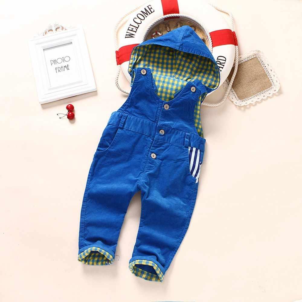 9m-4Years Детский комбинезон весенний на зиму для мальчиков, комбинезоны для девочек Вельветовая куртка с капюшоном детские комбинезоны детские Костюмы синий и красный цвета