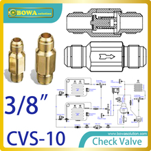 3/8″ one way valve with SAE flare connection for commercial as well as industrial refrigeration purposes replace Superior