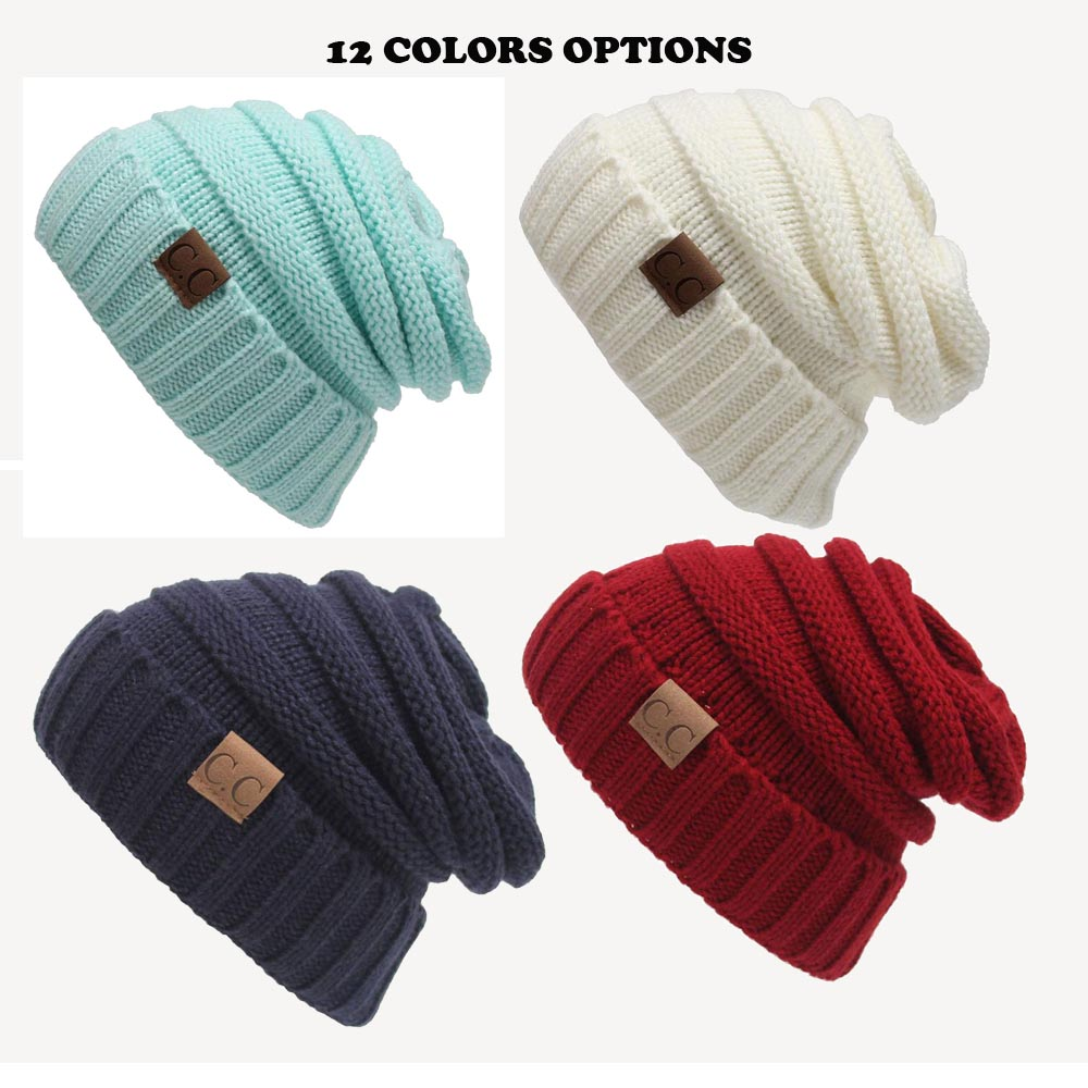 Fashion C.C Cap Men Women Unisex Adult Casual Hip-Hop Hats Knitted Wool Skullies Beanie Hat Warm Winter Hat for Women Girls 2017 winter women beanie skullies men hiphop hats knitted hat baggy crochet cap bonnets femme en laine homme gorros de lana