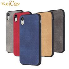 Jeans Texture Series Soft TPU Cases For Apple iPhone 6 6S 7 8 X XS XR Max 6Plus 6SPlus 7Plus 8Plus Case Ultra-thin Back Cover