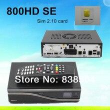 Sunray Dm800se DM 800SE HD sim2.10 BCM4505 turner dm800 sí Enigma 2 receptor de Satélite Linux OS